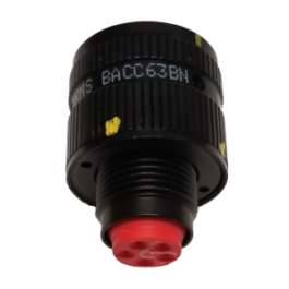 Threaded Circular Connector BACC63BV22B19P8 Crimp Pin 22-19 19 Contacts BACC63 Series BACC63BV22B19P8 Wall Mount Receptacle