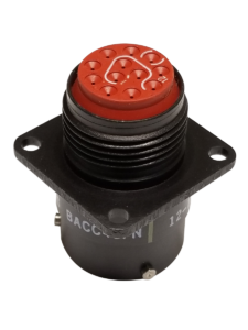 BACC45 Series 55 Contacts Circular Connector BACC45FN22-55S Bayonet 22-55 Wall Mount Receptacle BACC45FN22-55S Crimp Socket